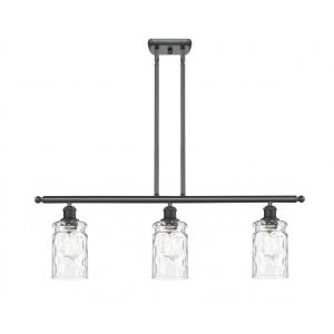Candor-10.5W 3 LED Island in Industrial Style-36 Inches Wide by 11 Inches High