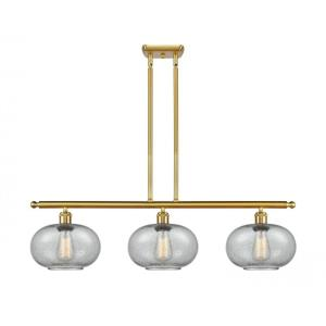 Gorham-10.5W 3 LED Island in Industrial Style-36 Inches Wide by 10 Inches High
