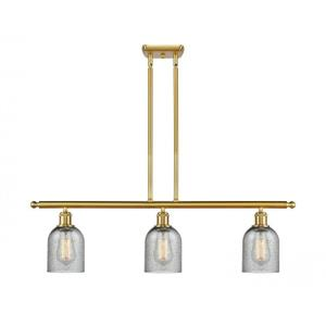 Caledonia-10.5W 3 LED Island in Industrial Style-36 Inches Wide by 10 Inches High