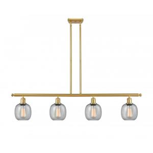 Belfast-14W 4 LED Island in Industrial Style-48 Inches Wide by 10 Inches High