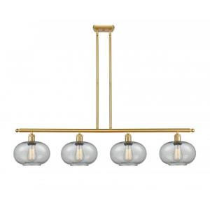 Gorham-14W 4 LED Island in Industrial Style-48 Inches Wide by 10 Inches High