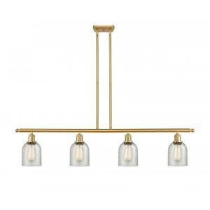 Caledonia-14W 4 LED Island in Industrial Style-48 Inches Wide by 10 Inches High