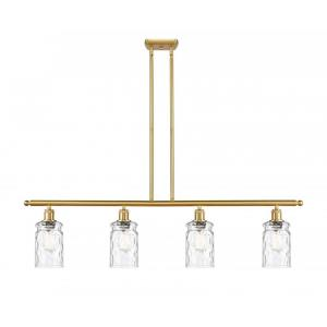 Candor-14W 4 LED Island in Industrial Style-48 Inches Wide by 10 Inches High