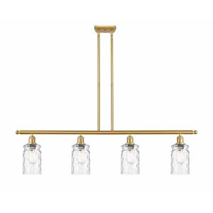Candor-4 Light Island in Industrial Style-48 Inches Wide by 10 Inches High