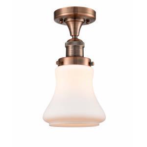 Bellmont - 11.5 Inch 1 Light Semi-Flush Mount