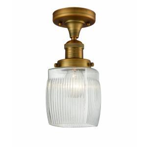 Colton - 10 Inch 1 Light Semi-Flush Mount