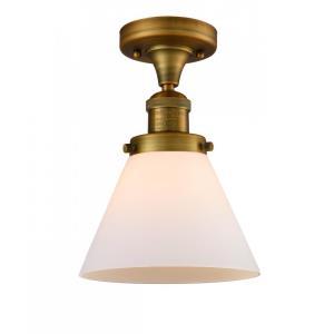 X-Large Cone - 16 Inch 1 Light Semi-Flush Mount