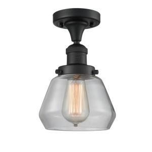 Fulton - 10.5 Inch 3.5W 1 LED Semi-Flush Mount