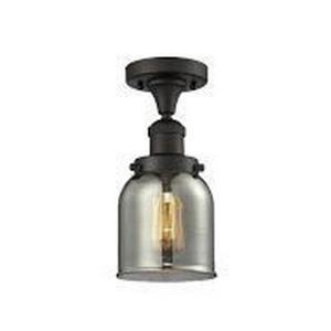 Small Bell - One Light Semi-Flush Mount