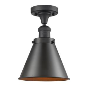 Appalachian-3.5W 1 LED Semi-Flush Mount in Traditional Style-8 Inches Wide by 10 Inches High