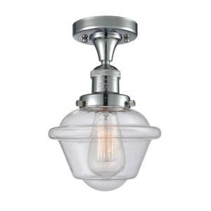 Small Oxford - 11 Inch 3.5W 1 LED Semi-Flush Mount