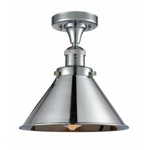 Briarcliff - 11 Inch 1 Light Semi-Flush Mount