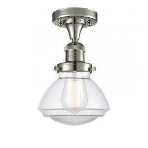 Olean - 9.25 Inch 3.5W 1 LED Semi-Flush Mount
