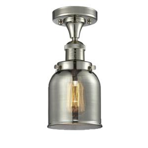 Small Bell - 9 Inch 3.5W 1 LED Semi-Flush Mount