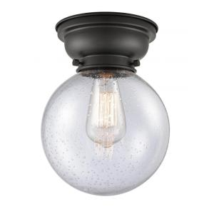 Large Beacon-3.5W 1 LED Flush Mount in Industrial Style-8 Inches Wide by 9.15 Inches High