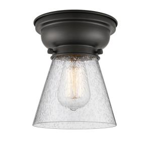 Small Cone - 1 Light Flush Mount