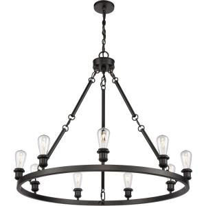Saloon - 40 Inch 9 Light Chandelier