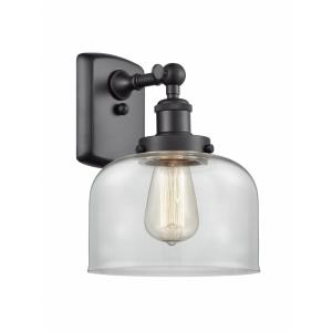 Large Bell - 13 Inch 1 Light Wall Sconce