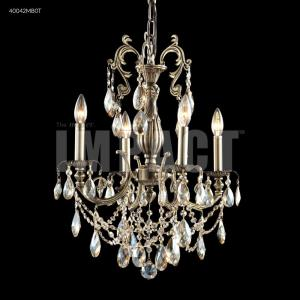 Monaco - Four Light Chandelier