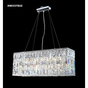 Impact - Twenty-Four Light Linear Chandelier
