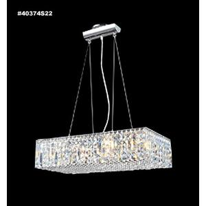 Impact - Twelve Light Linear Chandelier