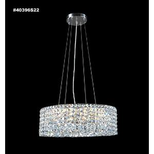 Impact Rondelle - Sixteen Light Chandelier