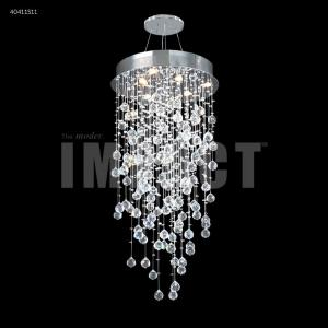 Crystal Rain - Six Light Chandelier