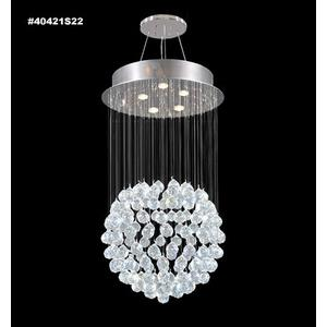 Impact Crystal Rain - Five Light Chandelier