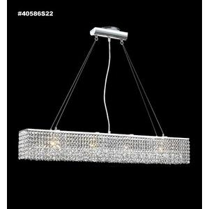 Impact - Six Light Linear Chandelier