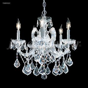 Maria Theresa Grand - Five Light Crystal Chandelier