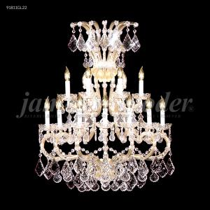 Maria Theresa Grand - Eleven Light Crystal Chandelier