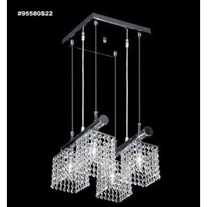 Broadway - Four Light Multi-Pendant