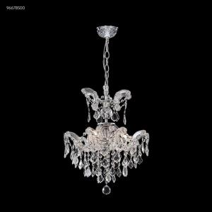 Maria Theresa Grand - Three Light Crystal Chandelier