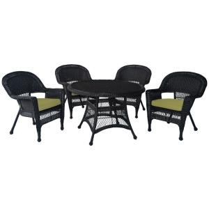 """44.5"""" 5 Piece Dining Set with Cusion"""
