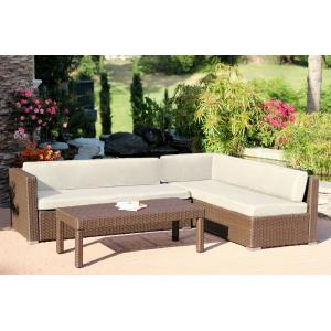 "69.5"" 3 Piece Conversation Sectional Set"