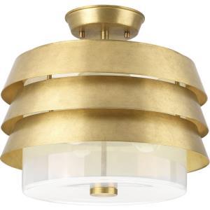 Jeffrey Alan Marks Sandbar - Three Light Convertible Semi-Flush Mount