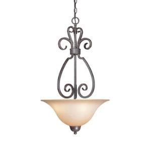 Sheridan - Three Light Inverted Pendant - 18 inches wide by 30 inches high