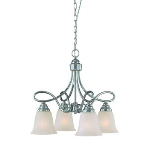 Cordova - Four Light Chandelier - 21 inches wide by 19 inches high