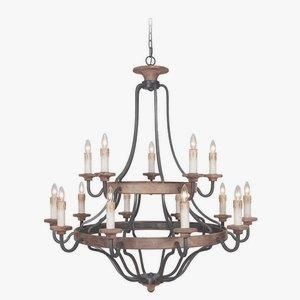 Ashwood - Fifteen Light Chandelier