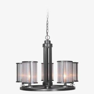 Danbury - Five Light Chandelier - 28.5 inches wide by 22.13 inches high
