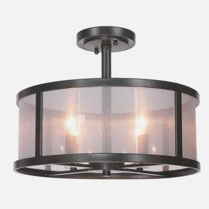 Danbury - Four Light Semi-Flush Mount