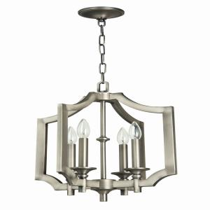 Lisbon - Four Light Foyer - 20.87 inches wide by 26.31 inches high