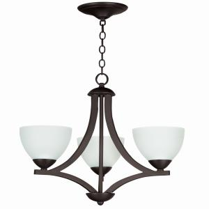 Almeda - Three Light Chandelier - 20 inches wide by 23 inches high