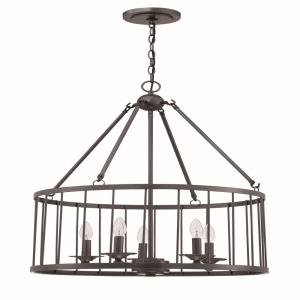 Villa - Five Light Pendant