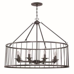 Villa - Eight Light Pendant