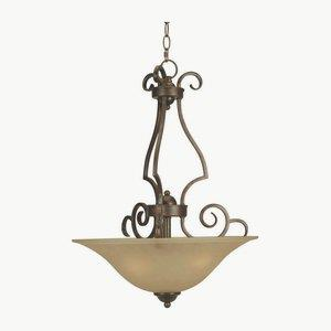 Cecilia - Three Light Large Pendant - 18 inches wide by 25.5 inches high