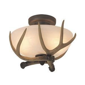 Frontier - Two Light Semi-Flush Mount