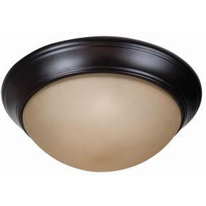 Pro Builder Premium - 13 Inch Two Light Flushmount