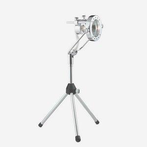 "Selia - 3.5"" Portable Adjustable Spot on Tripod Stand"