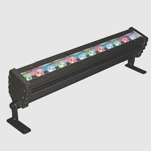 """WWS Series - 16"""" 14W 12 LED Outdoor Wall Washer with Plug and Play - 30 Beam Angle"""